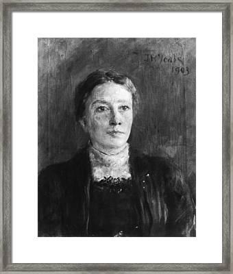 Lady Augusta Gregory Framed Print