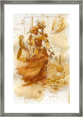 Lady Bonney Framed Print