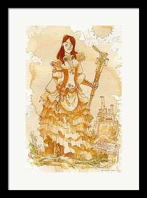 Felicia Framed Prints