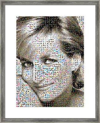 Lady D Framed Print by Gilberto Viciedo