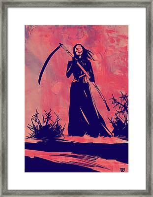 Lady D Framed Print