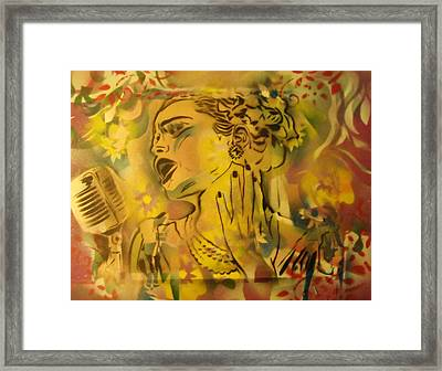 Lady Day Framed Print by Dorian Williams