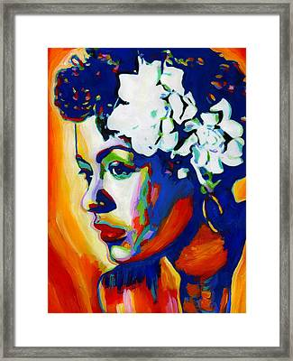 Lady Day Framed Print by Vel Verrept