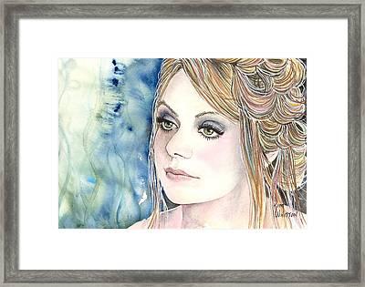 Lady Di Framed Print