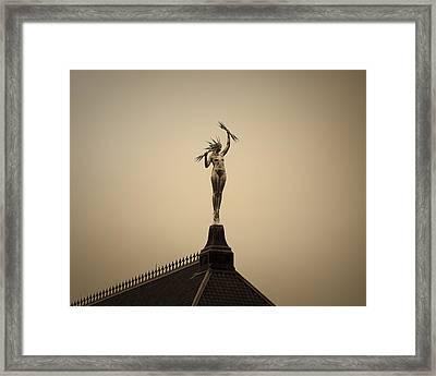 Lady Electra Framed Print