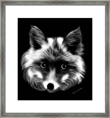 Lady Fox Framed Print