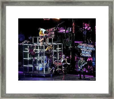 Lady Gaga 2 Framed Print by JoAnn Lense
