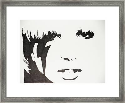 Lady Gaga 2 Framed Print by Kenneth Regan