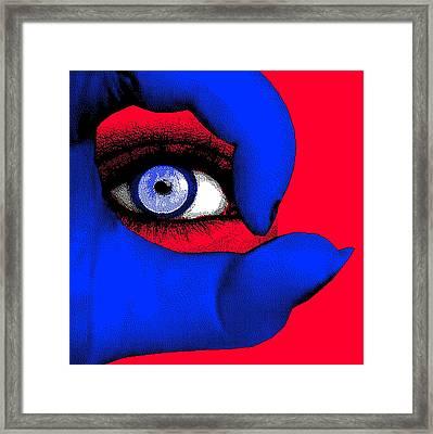 Lady Gaga Framed Print by Daniel House