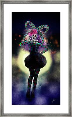 Lady Gaga's Friend Framed Print by Joaquin Abella