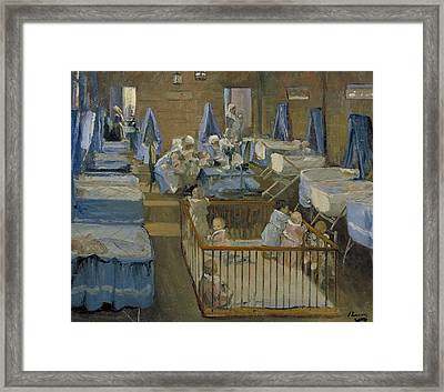 Lady Henry's Creche, Woolwich Framed Print