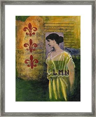Lady In Waiting Framed Print by Terry Honstead