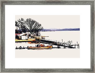 Framed Print featuring the photograph Lady Jean by Jeremy Lavender Photography