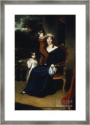 Lady Louisa Harvey Framed Print