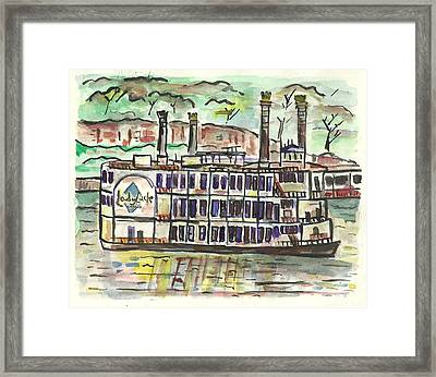 Lady Luck Casino Framed Print by Matt Gaudian