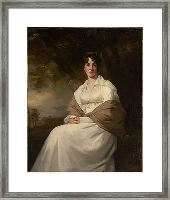Lady Maitland Framed Print by Henry Raeburn