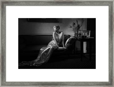 Lady Miguel Framed Print by Damien Lovegrove