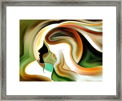 Lady Of Color Framed Print
