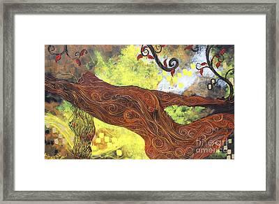 Lady Of Elation Framed Print