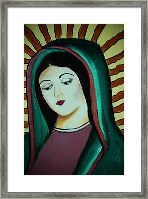 Lady Of Guadalupe Framed Print