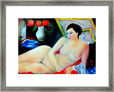 Lady Of Leisure.... Framed Print