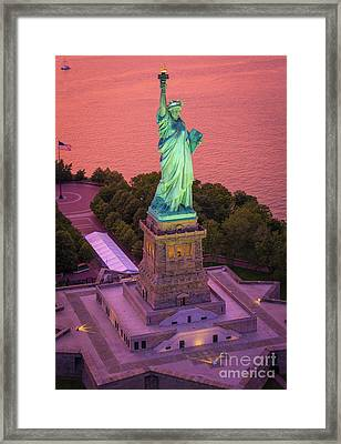 Lady Of Liberty Framed Print