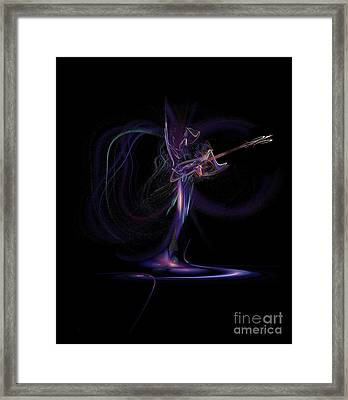 Lady Of Rock Framed Print by Viktor Savchenko