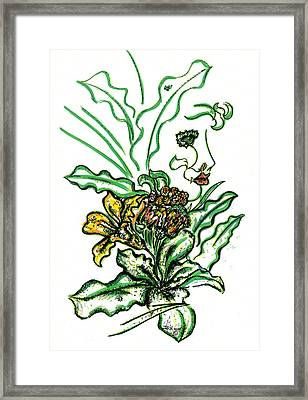 Lady Of The Garden Framed Print by Judith Herbert