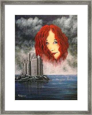 Lady Of The Lake Framed Print by Bob Patterson