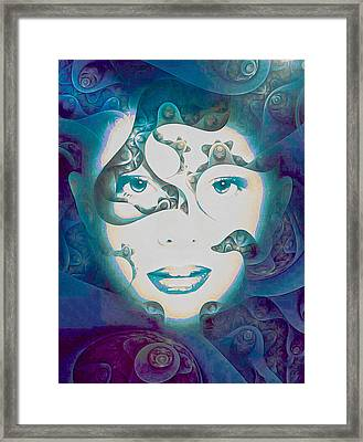 Lady Of The Lake Framed Print by Susan Maxwell Schmidt