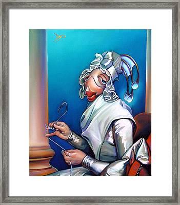Lady Seabass Framed Print by Patrick Anthony Pierson