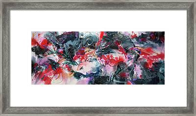 Living Color Framed Print by Sharon K Wilson