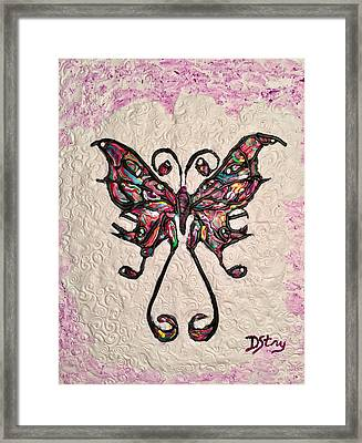 Lady T Framed Print