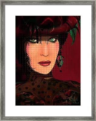Lady Victoria Framed Print by Natalie Holland