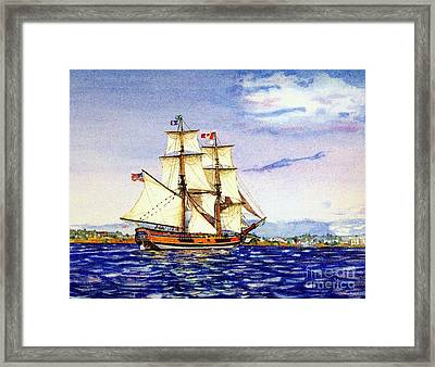 Lady Washington Framed Print