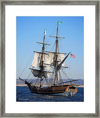 Lady Washington I Framed Print