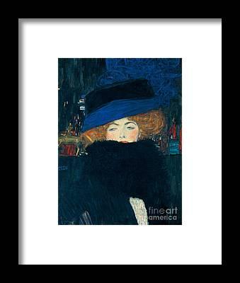 Elegant Lady Framed Prints