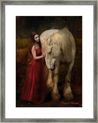 Lady With An Ermine  Framed Print