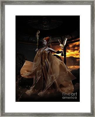 Ladyhawke Framed Print