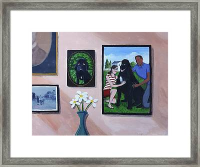 Lady's Family Gallery Framed Print