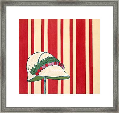 Lady's Hat Framed Print by French School