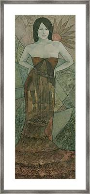 Laelia Framed Print by Steve Mitchell
