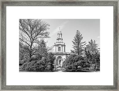 Lafayette College Colton Chapel Horizontal Framed Print by University Icons