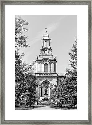 Lafayette College Colton Chapel Vertical Framed Print by University Icons