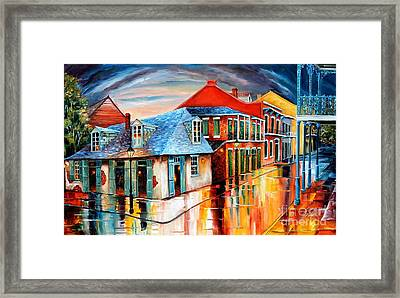 Lafitte's Bar At Sunset Framed Print by Diane Millsap