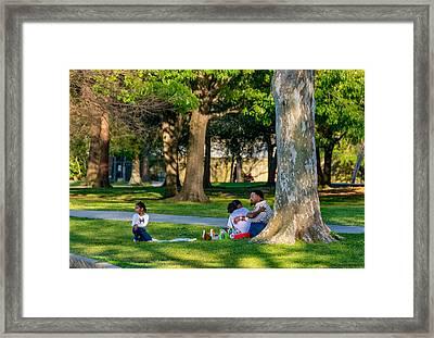 Lafreniere Park Framed Print