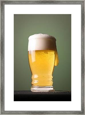 Lager Beer Framed Print