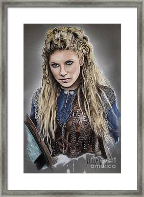 Lagertha Framed Print