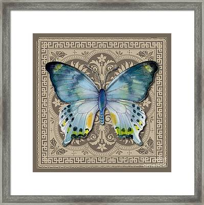 Laglaizei Butterfly Design Framed Print
