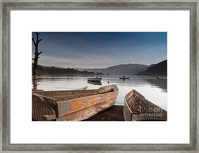 Lago Atitlan Framed Print